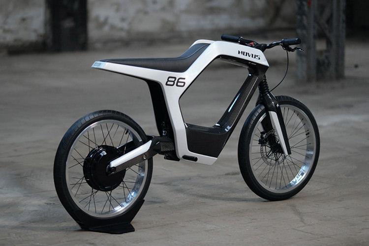 معرفی موتورسیکلت برقی Novus