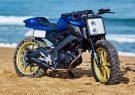 معرفى موتورسیکلت سفارشی یاماها MT-125 Kingstone