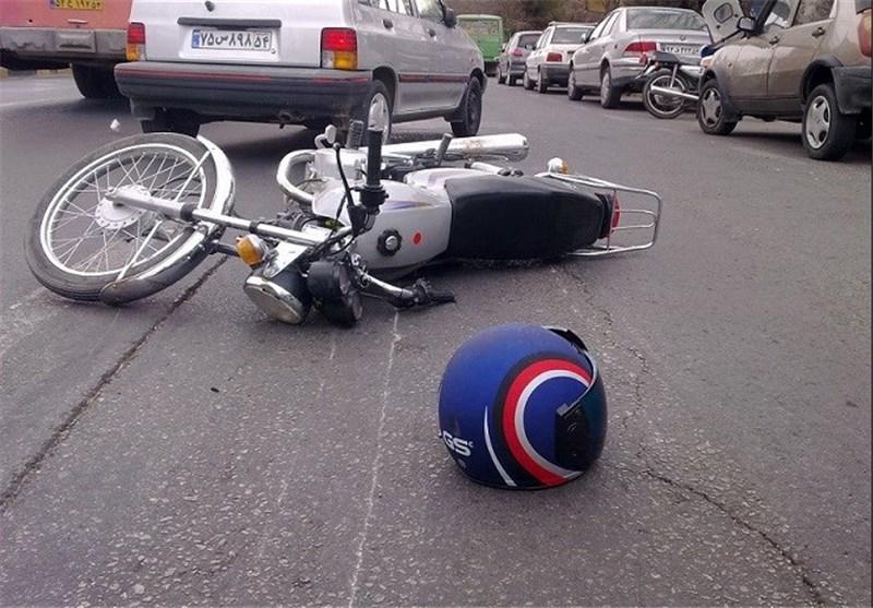 فوت ۷۵ درصد راکبان موتورسیکلتها در اثر ضربه به سر