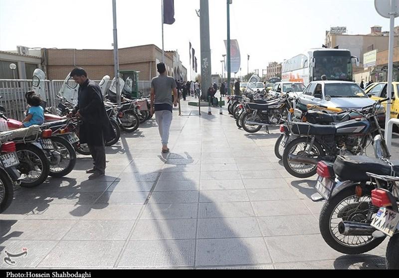 بیش از ۳۰۰هزار دستگاه موتورسیکلت پلاک شده در شهر قم