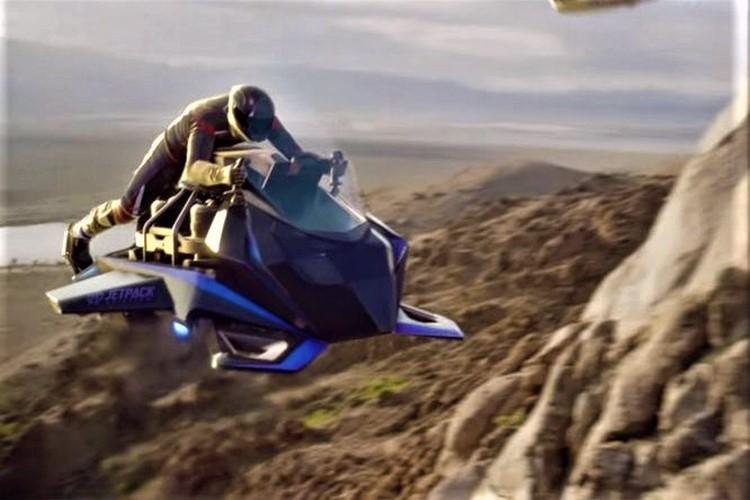 معرفى موتورسیکلت پرنده Jetpack Aviation