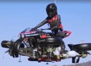 رونمایی از موتورسیکلت پرنده در نمایشگاه جیتکس ۲۰۱۹ دبی