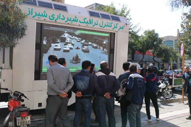 تردد ۴۰۰ هزار دستگاه موتورسیکلت در شیراز