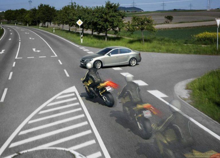 نکات ترمز گیری با موتورسیکلت