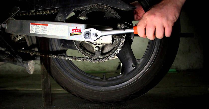 زنجیر چرخ موتورسیکلت
