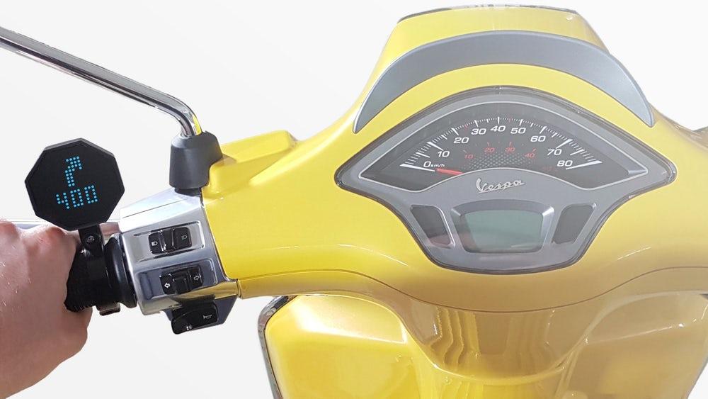 یک سیستم هوشمند برای موتورسیکلتها