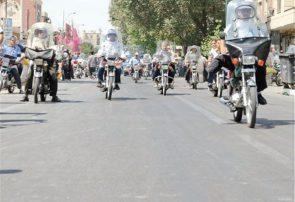 ۲۱درصد موتورسیکلتهای کشور در تهران تردد میکنند