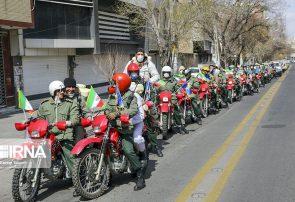 موتورسیکلت ها در تبریز به کمک مبارزه با کرونا آمدند