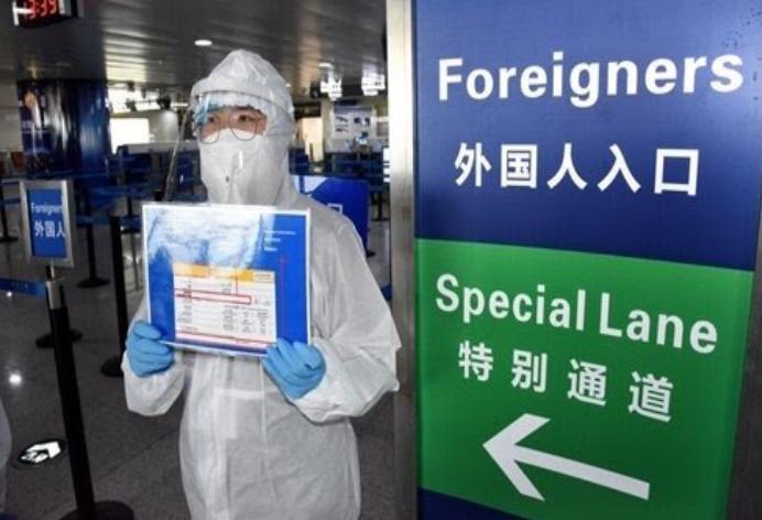 چین ورود اتباع خارجی به کشور را ممنوع کرد