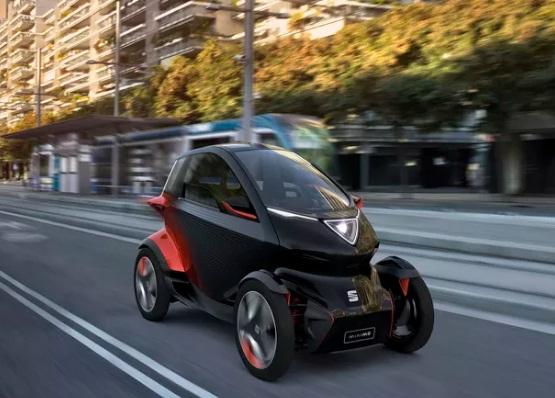 معرفی یک وسیلهنقلیه مفهومی به نام Seat Minimó