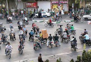 درصد استفاده خانوارهاى ایرانى از موتورسیکلت