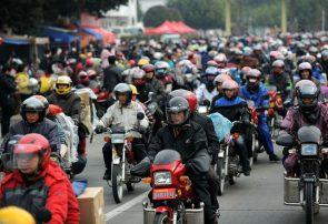 میزان تولید، فروش و صادرات موتورسیکلت چین در سال ٢٠١٩
