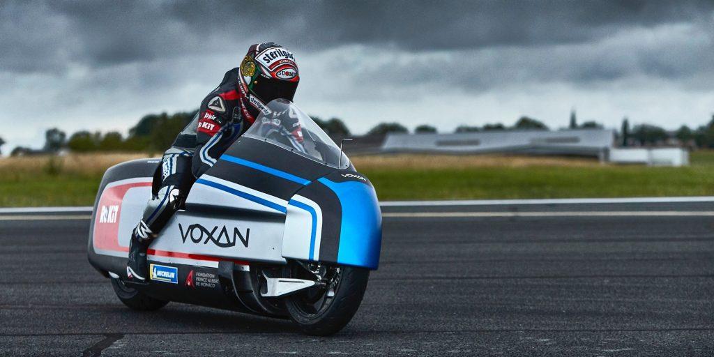 موتورسیکلت برقى که به دنبال شکستن رکورد سرعت جهان است