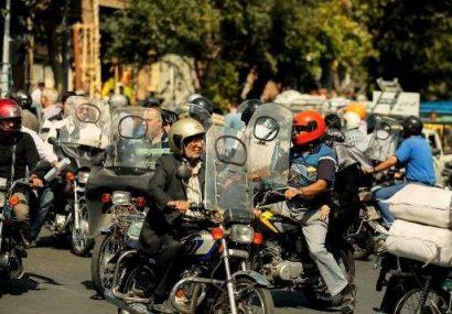 بیشتر موتورسواران  گواهینامه و بیمه ندارند