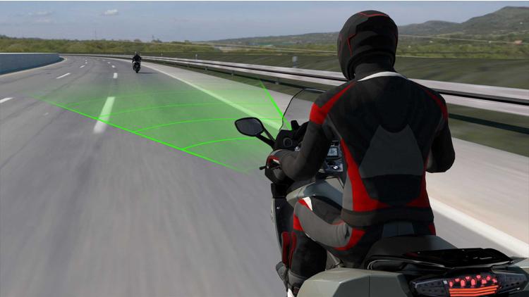 ساخت کنترل کروز موتورسیکلت توسط بى ام و