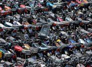 اشباع پارکینگ هاى تهران از موتورسیکلت هاى توقیفی/ مکانیزمی برای از رده خارج کردن و معاینه فنی موتورسیکلت هاى قدیمی وجود ندارد
