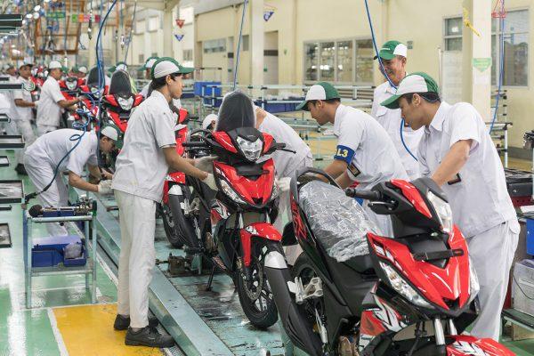 وضعیت صنعت موتورسیکلت اندونزی در پنج ماه اول سال ۲۰۲۰