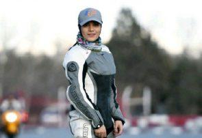 عشق به سرعت من را موتورسوار کرد/ بانوان زیادی جذب موتورسواری شده اند