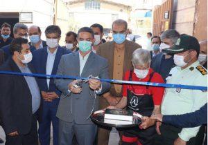 افتتاح خط تولید موتورسیکلت و اسکوترهای برقی در پرندک