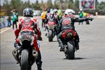 به دلیل شیوع کرونا رقابت موتورسواری بناب لغو شد