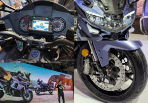 موتورسنگین جدید بنلی در نمایشگاه موتورسیکلت چونگ کینگ ۲۰۲۰