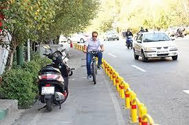 موتورسواران از مسیر ویژه دوچرخه استفاده نکنند
