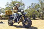 موتورسیکلت برقی برای کار در مزرعه