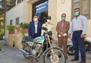 چهار پایگاه حفاظت از میراث فرهنگی اصفهان موتورسیکلت دار شدند