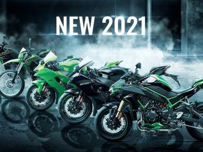 مدل هاى جدید کاواساکى ٢٠٢١ رونمایى شد