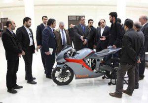 حمایت معاونت علمی و فناوری ریاست جمهوری از محققان و طراحان موتورسیکلت کم مصرف