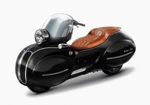 طراحى موتورسیکلتى جدید با نگاهى به گذشته و آینده