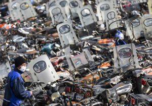 واکنش شهرداری به ترخیص موتورسیکلت ها از پارکینگ ها/ معاینه فنی موتورسیکلت ها اخذ شود