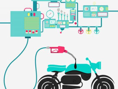موتورسیکلتهای فرسوده با احتراق ناقص سوخت استاندارد را تبدیل به آلودگی میکنند