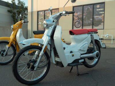 معرفی موتورسیکلت برقی جدید شرکت CSC با الهام از هوندا کاب