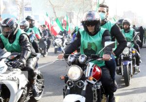 بزرگترین رژه موتوری در طول تاریخ ایران رقم خورد