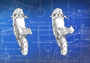 هوندا در ثبت اختراع جدید خود یک پهپاد جادویی در موتورسیکلت برقی قرار داده است