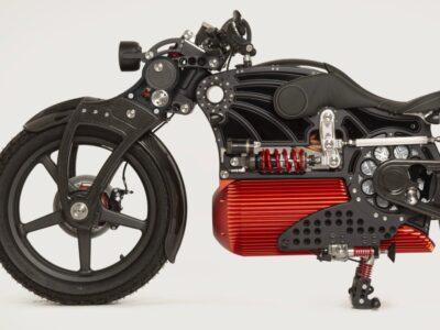 کروزر برقی جدید با قیمت نجومی وارد بازار موتورسیکلت میشود