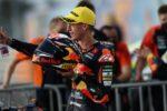 قهرمانی پدرو آکوستای اسپانیایی در مسابقات موتورسواری دوحه قطر