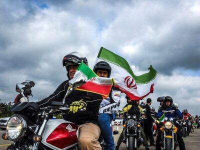 مانور موتورسواری در خیابانها و معابر پرتردد پایتخت تا ۲۹ اردیبهشت