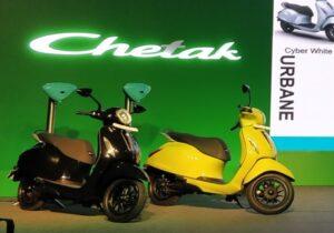 شوک باجاج به بازار موتورسیکلت برقی هند/ فروش مجدد چتاک از امروز