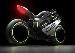 سگوی از موتورسیکلت هیبریدی برقی هیدروژنی رونمایی میکند