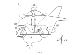 سوبارو ژاپن در حال ساخت یک موتورسیکلت پرنده